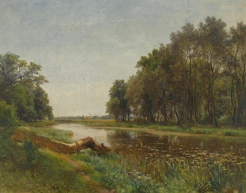 The March-Au Near Lundenburg (1871)