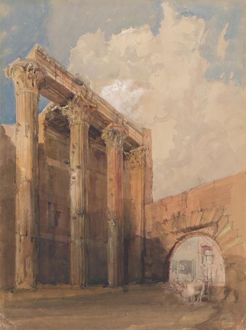 Temple of Mars Ultor, Rome (1840-45)