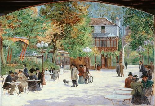 Au Chalet du Château de Madrid, au Bois de Boulogne (1895)