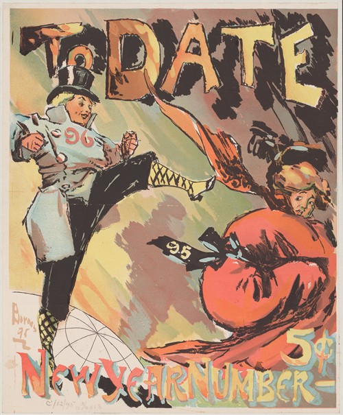 To Date, New Year, number (1895)