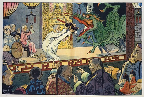 Like a Chinese play, it goes on forever (1909)