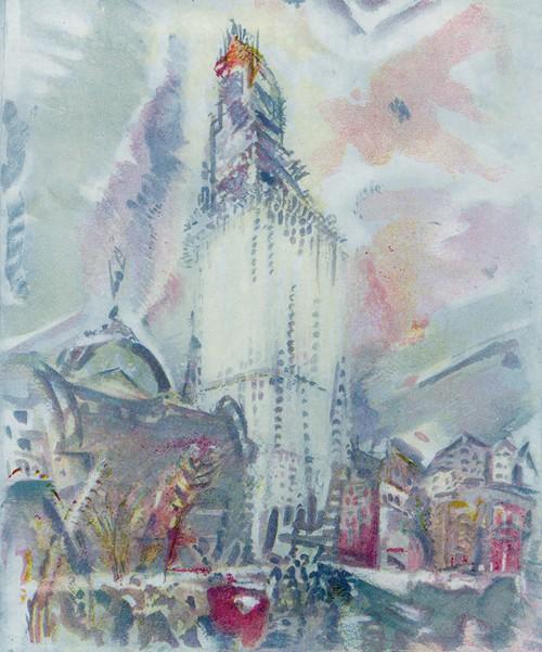 America's tallest tower, plus some temperament (1914)