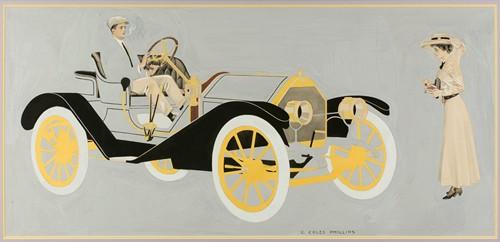 Model 20 Hudson Motor Car, ad illustration