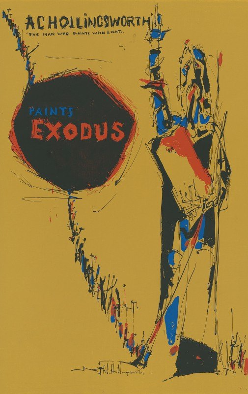 Alvin Hollingsworth - The man who paints with light, paints Exodus