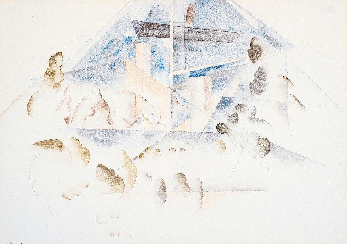 Charles Demuth - Bermuda, Masts and Foliage