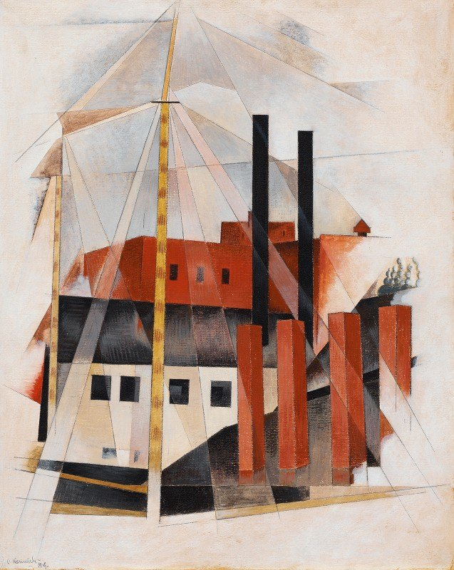 Charles Demuth - Piano Mover's Holiday