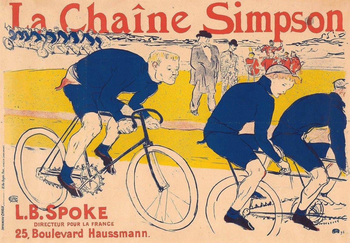 Henri de Toulouse-Lautrec - The Simpson