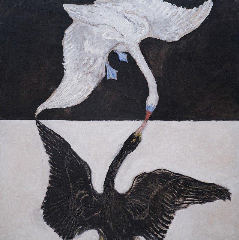 Hilma af Klint - Group IX-SUW, The Swan, No. 1