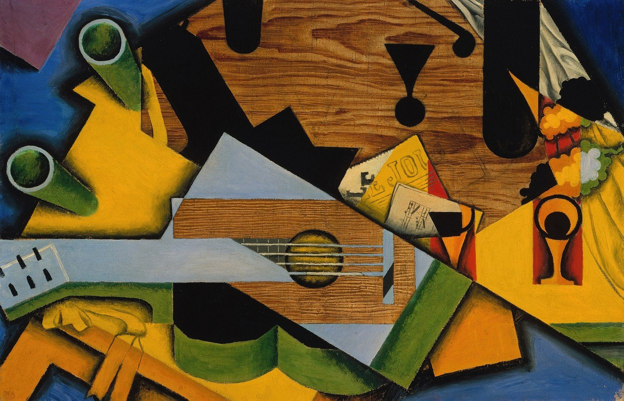 Juan Gris - Still Life with a Guitar