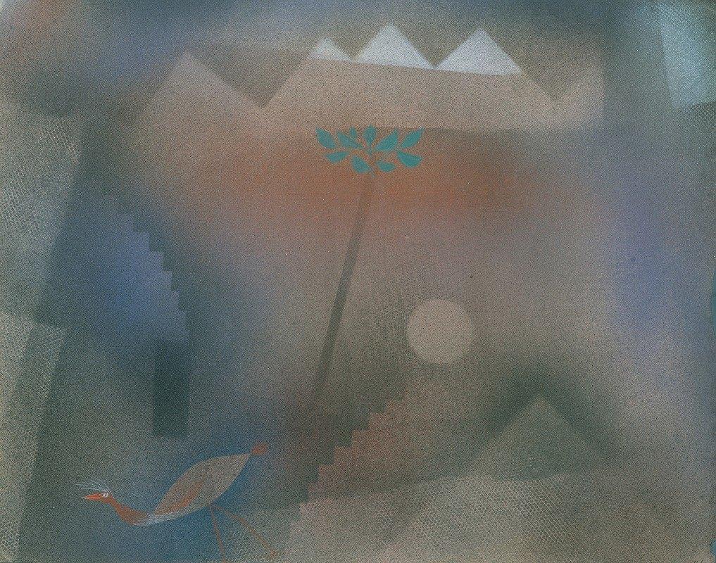 Paul Klee - Bird Wandering Off