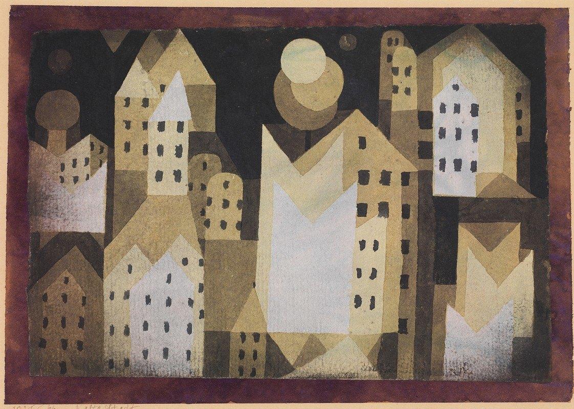 Paul Klee - Cold City
