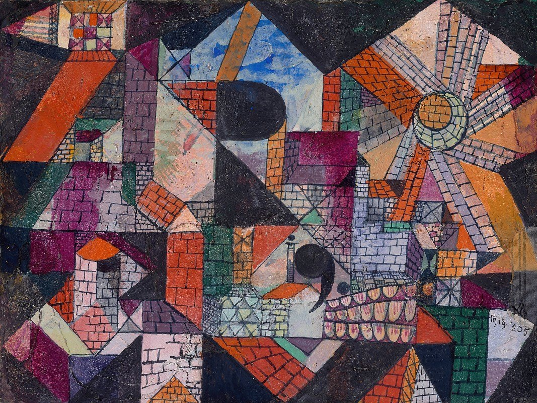 Paul Klee - Stadt R