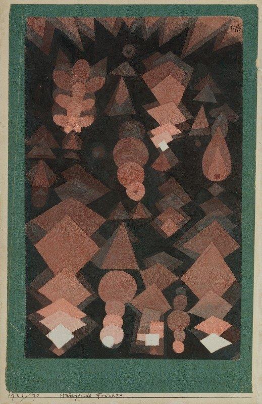 Paul Klee - Suspended Fruit