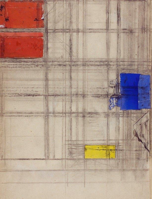 Piet Mondrian - Study for a Composition
