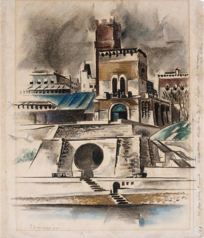 Preston Dickinson - The Water Gate