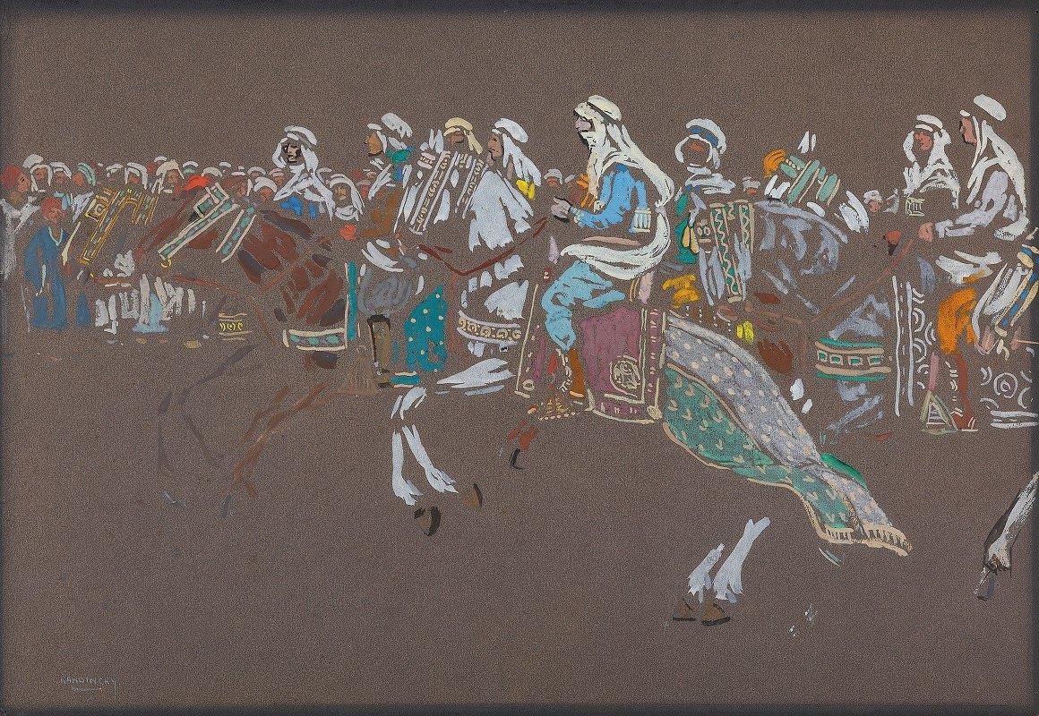 Wassily Kandinsky - Arab cavalry