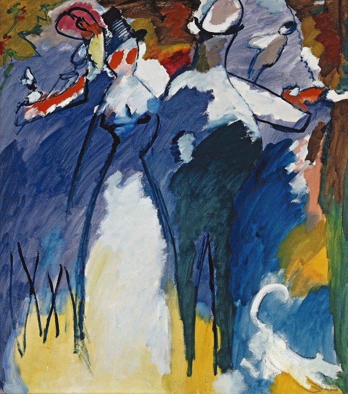 Wassily Kandinsky - Impression VI (Sunday)