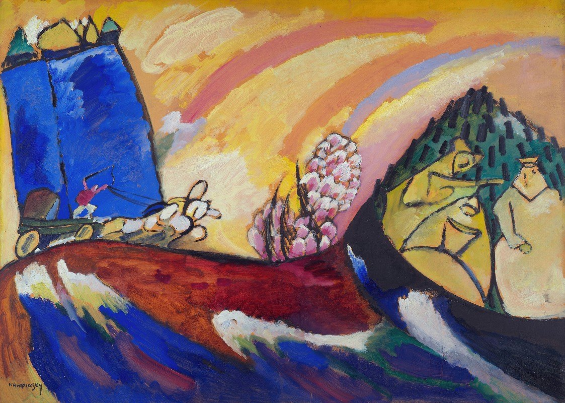 Wassily Kandinsky - Painting with Troika