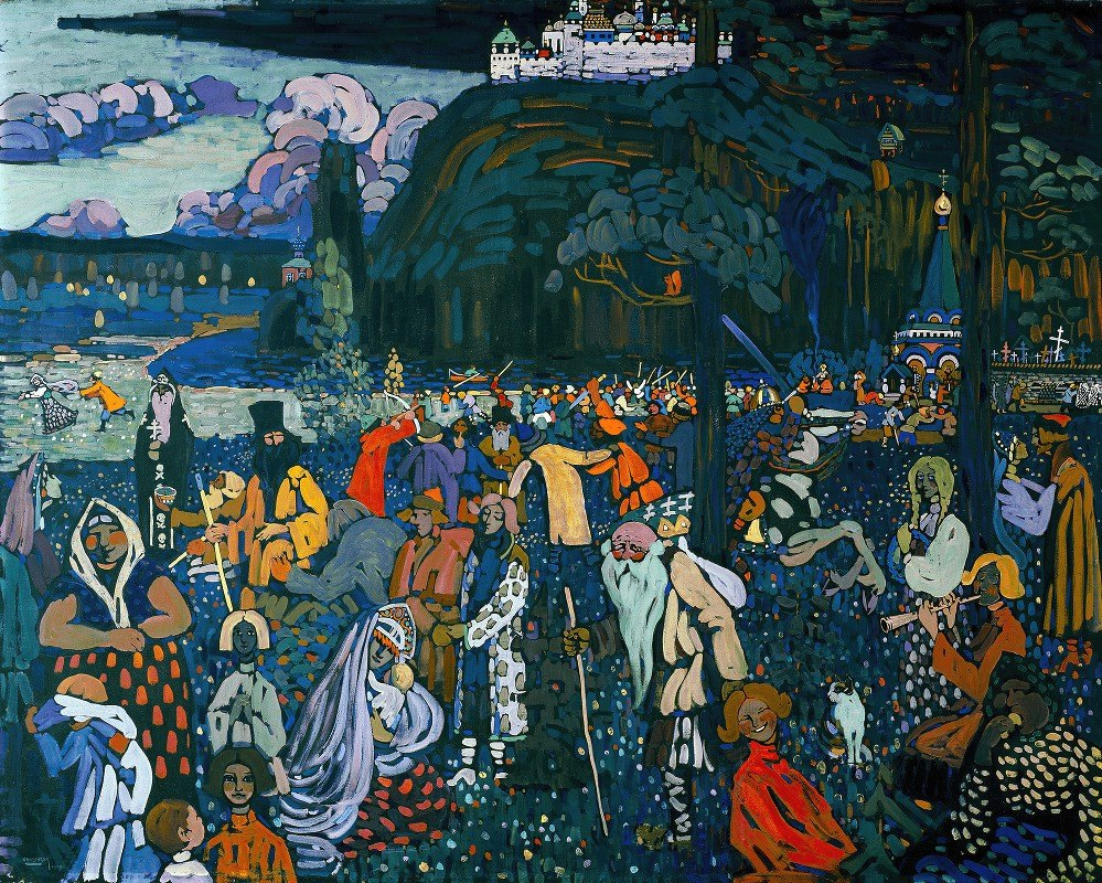 Wassily Kandinsky - The colorful life