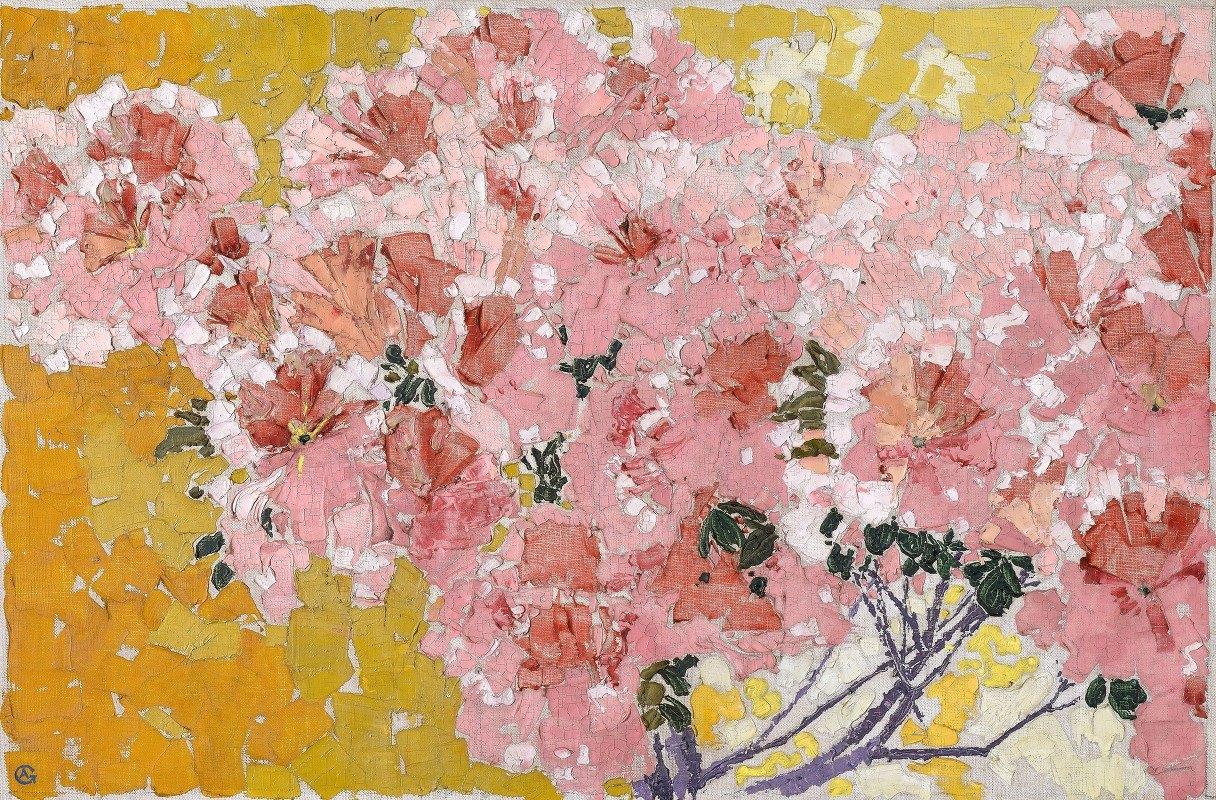 Augusto Giacometti - Blooming azaleas