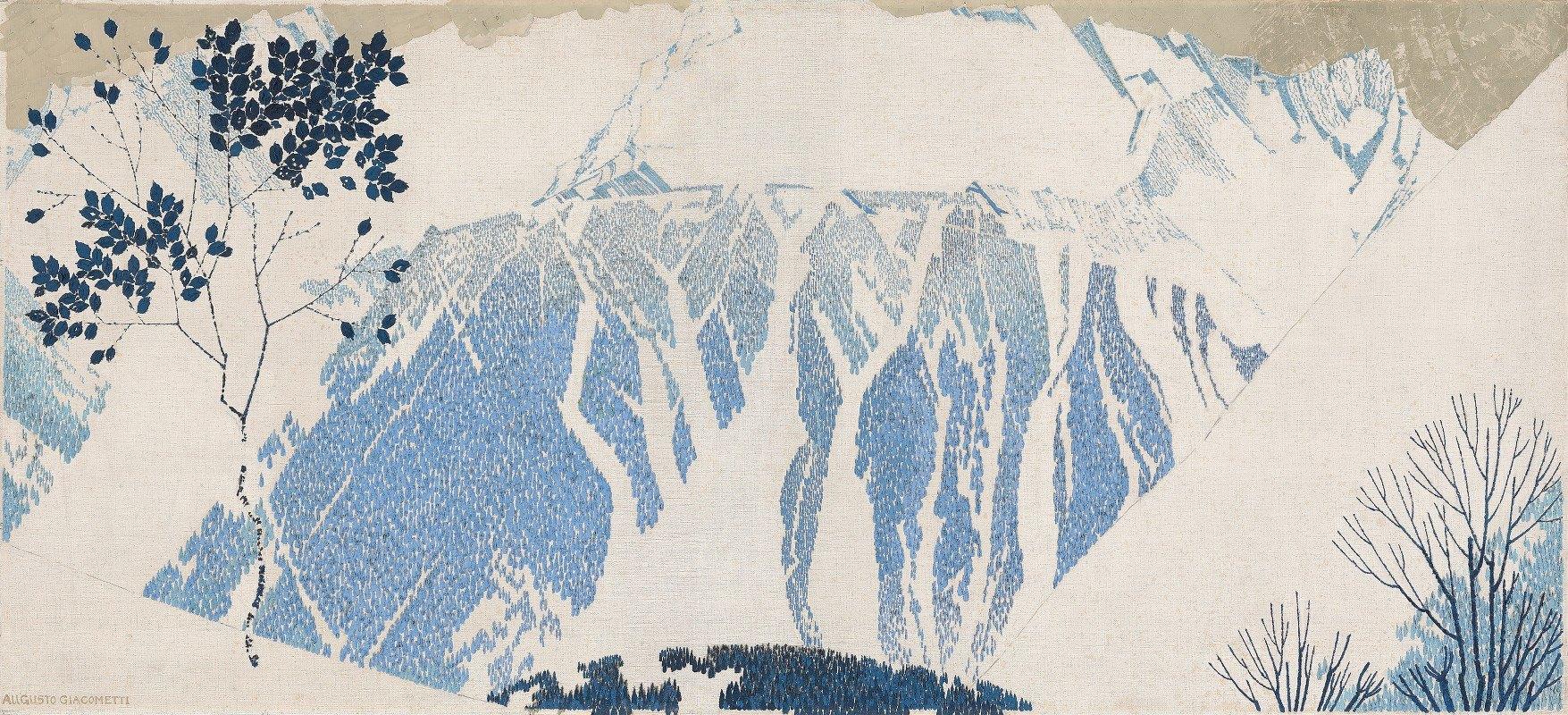 Augusto Giacometti - Mountains