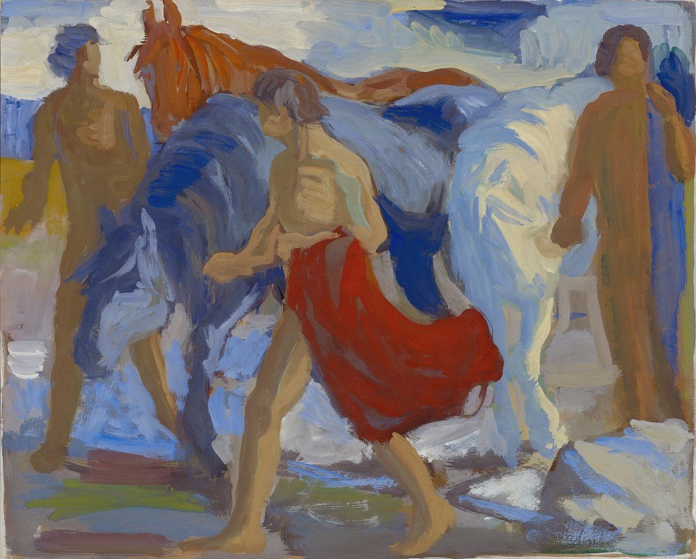Paul Altherr - Youngsters with horses
