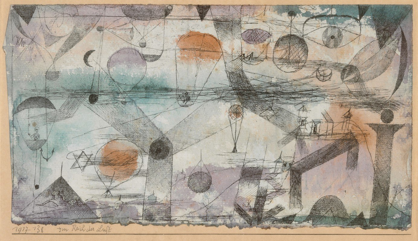 Paul Klee - In the realm of air