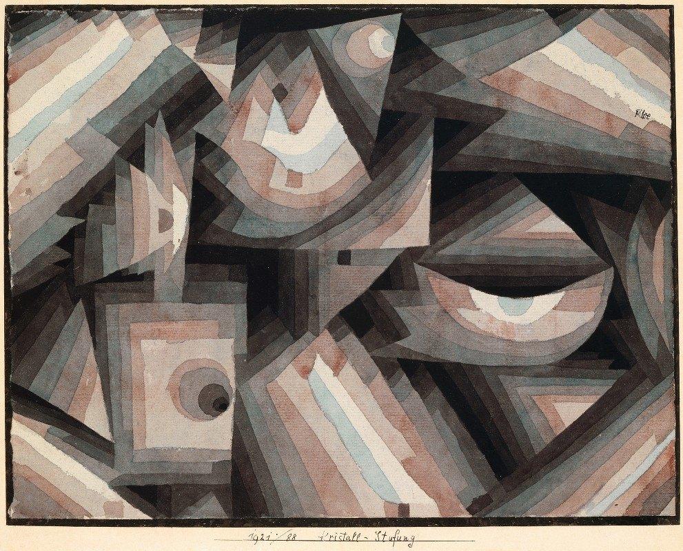 Paul Klee - Crystal gradation