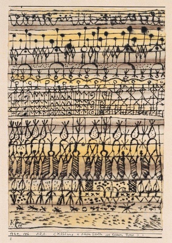 Paul Klee - ERA. 'Cooling in a Garden of the Torrid Zone'
