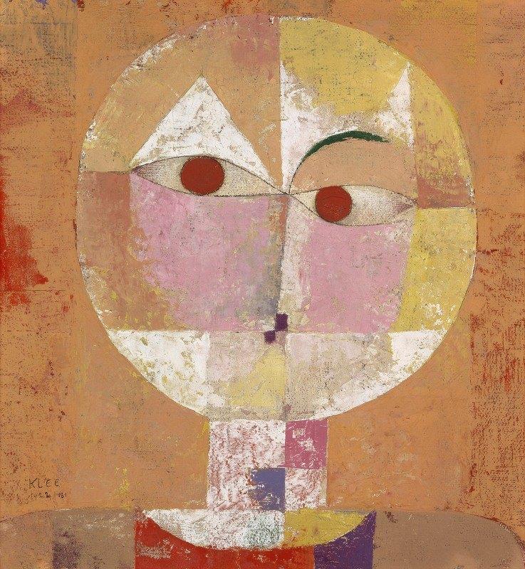 Paul Klee - Senecio (Soon to be Aged)