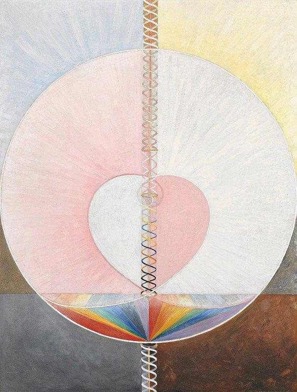Hilma af Klint - Group IX,UW No. 25, The Dove, No. 1