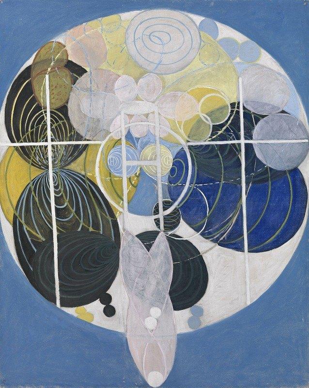 Hilma af Klint - The Large Figure Paintings, No. 5 Group 3