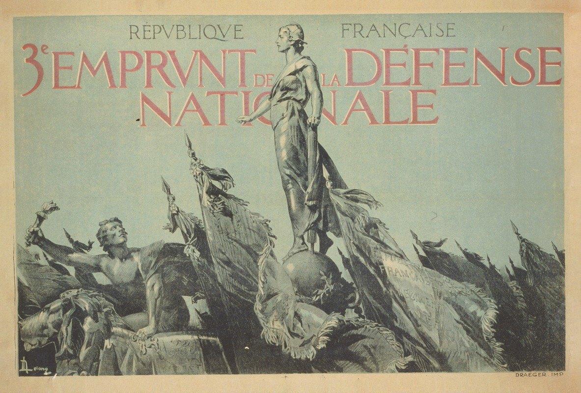 A. Lelong - République Française. 3e Emprunt de la Défense Nationale