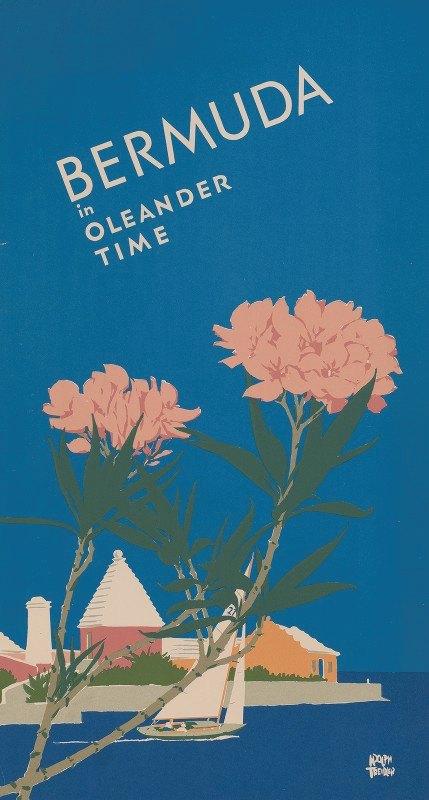 Adolph Treidler - Bermuda in oleander time