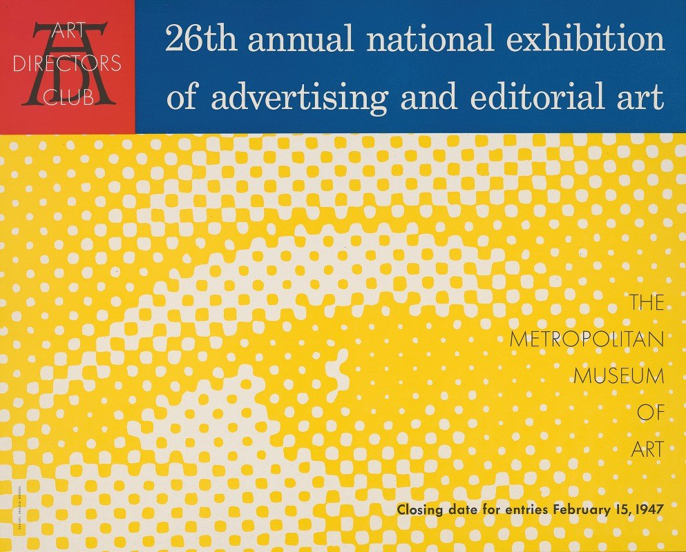 Arnold Roston - 26th annual national exhibition of advertising and editorial art