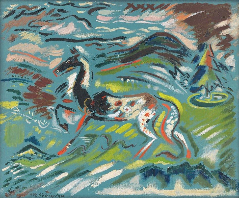 Arnold Peter Weisz-Kubínčan - Horse