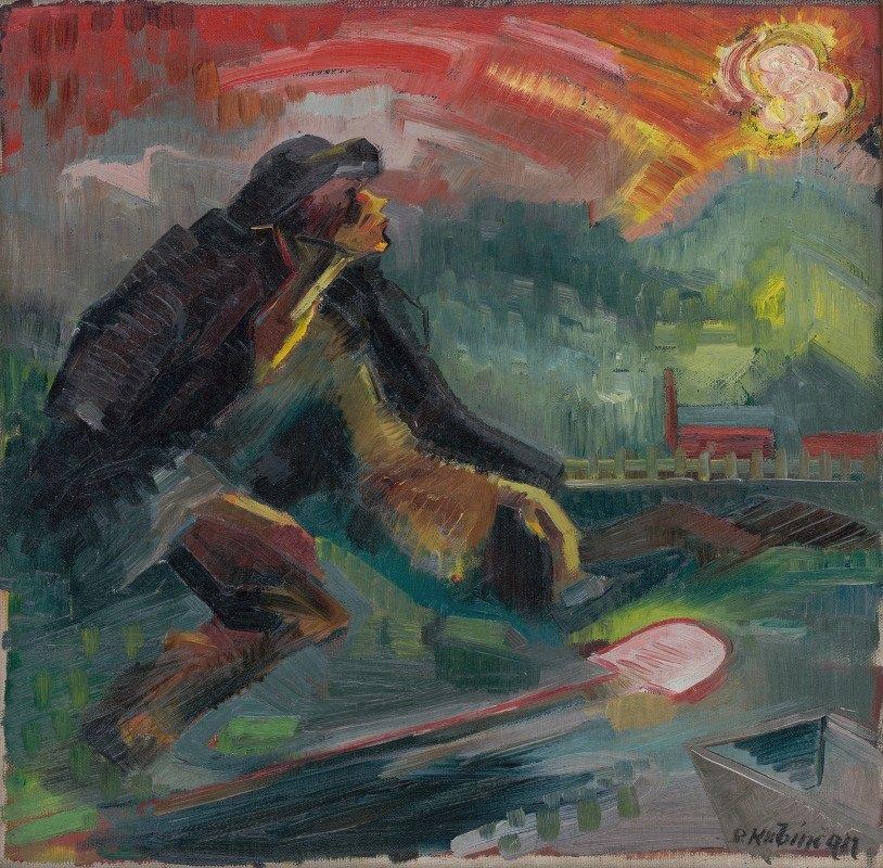 Arnold Peter Weisz-Kubínčan - Dawn