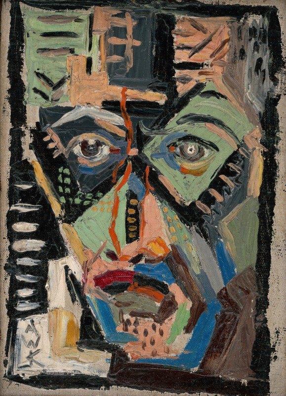 Arnold Peter Weisz-Kubínčan - Man's Face
