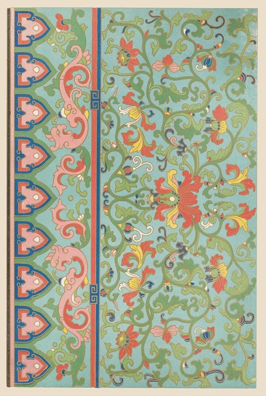 Owen Jones - Examples of Chinese ornament, Pl.08