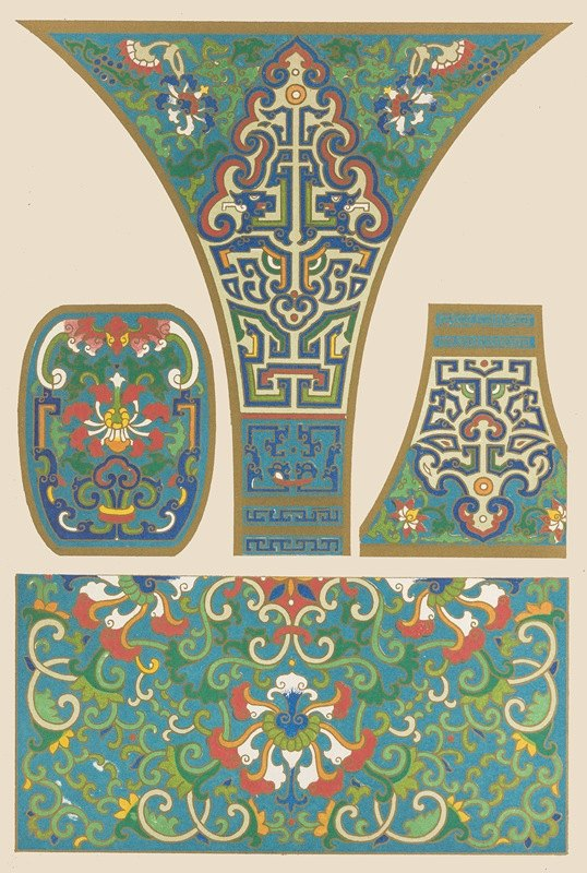Owen Jones - Examples of Chinese ornament, Pl.26