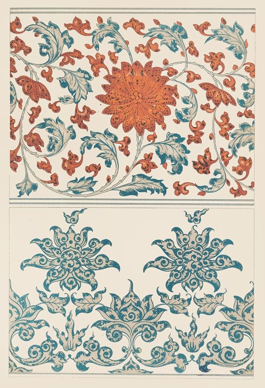 Owen Jones - Examples of Chinese ornament, Pl.39