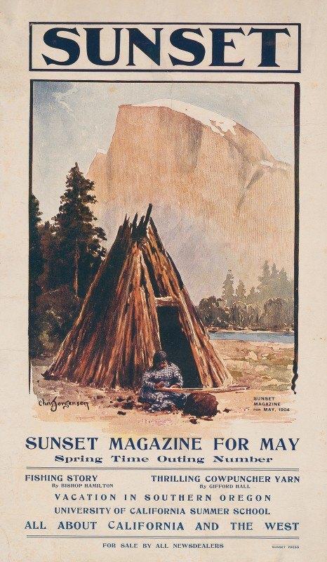 Chris Jorgensen - Sunset magazine for May