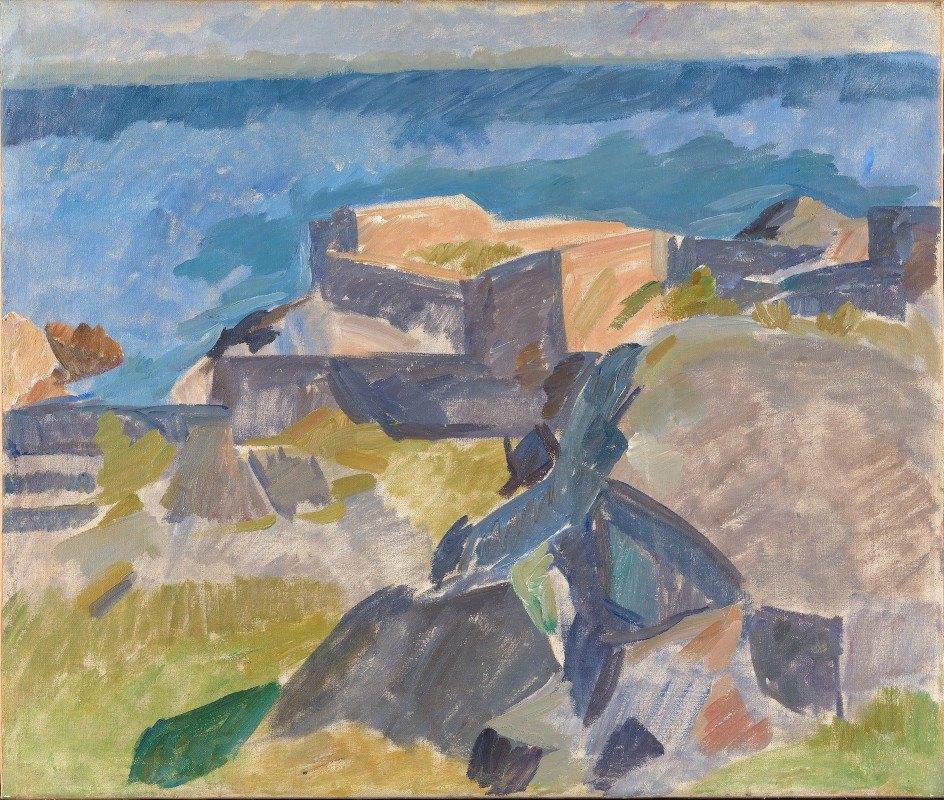 Edvard Weie - Landscape from Christiansø