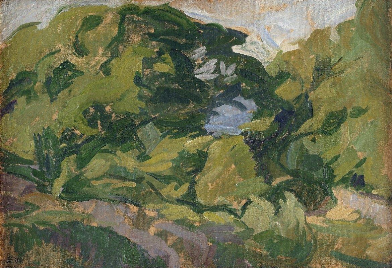 Edvard Weie - Landscape, Christiansø