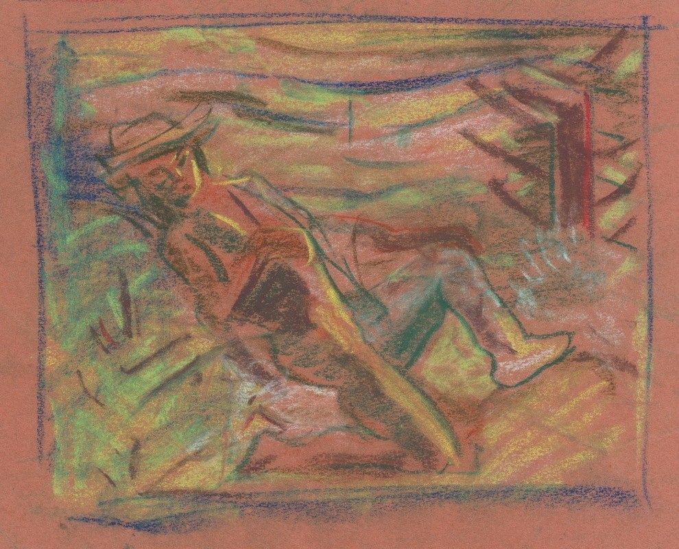Arnold Peter Weisz-Kubínčan - Highwayman
