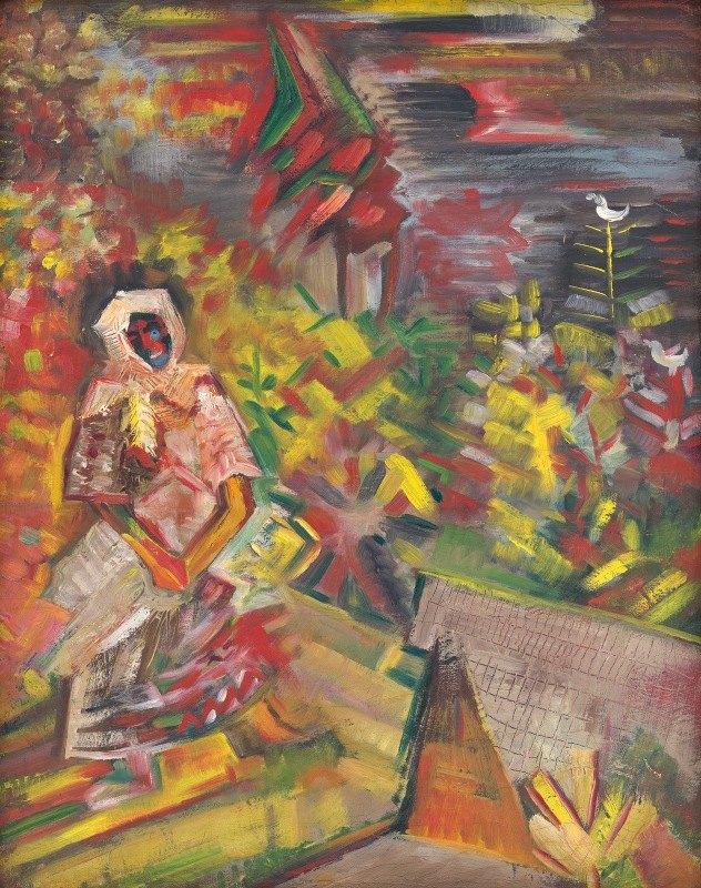 Arnold Peter Weisz-Kubínčan - Peasant Woman