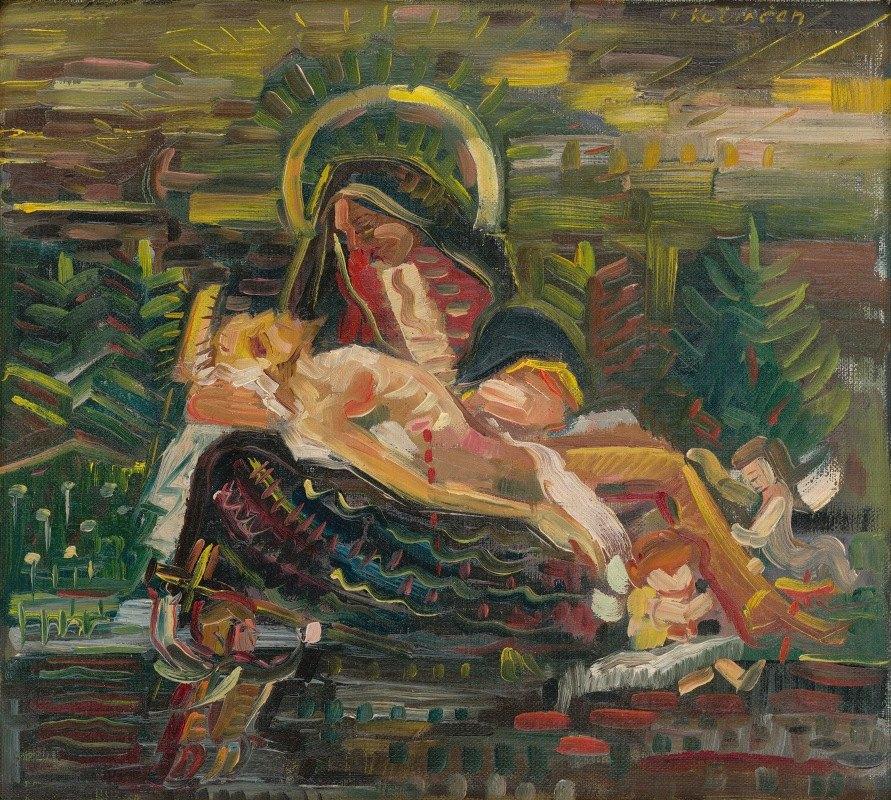 Arnold Peter Weisz-Kubínčan - Pietà