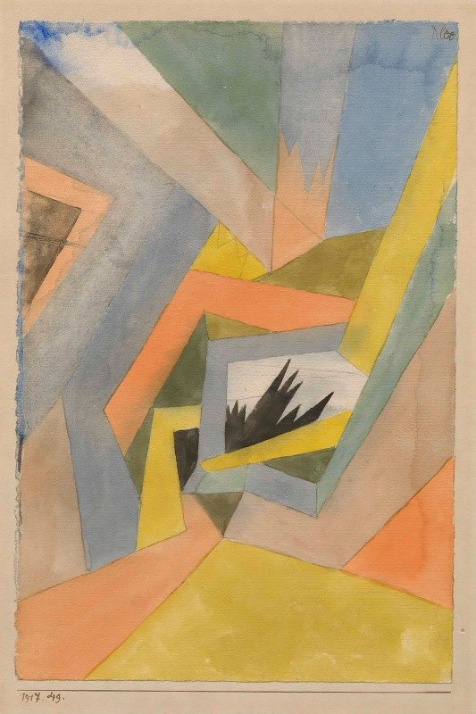 Paul Klee - The Idea of Firs