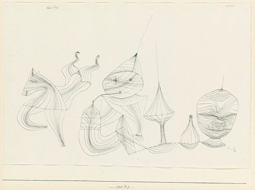 Paul Klee - Obertöne (Overtones)