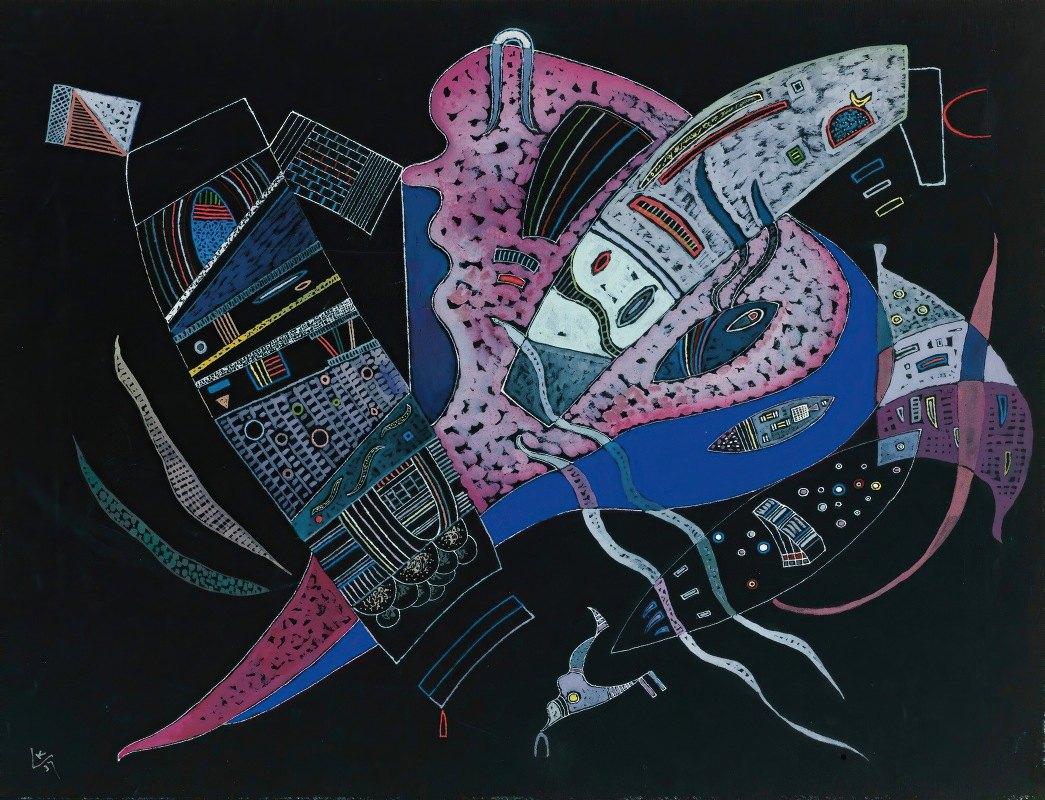 Wassily Kandinsky - Concentré